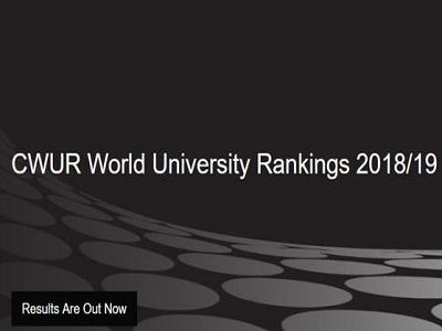 CWUR发布2018世界大学排名!中国大学下跌惨烈,美国霸占大半榜单!