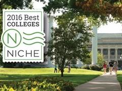 2016Niche最全美国大学分类排名 最佳、最好吃、最舒适、最学术……