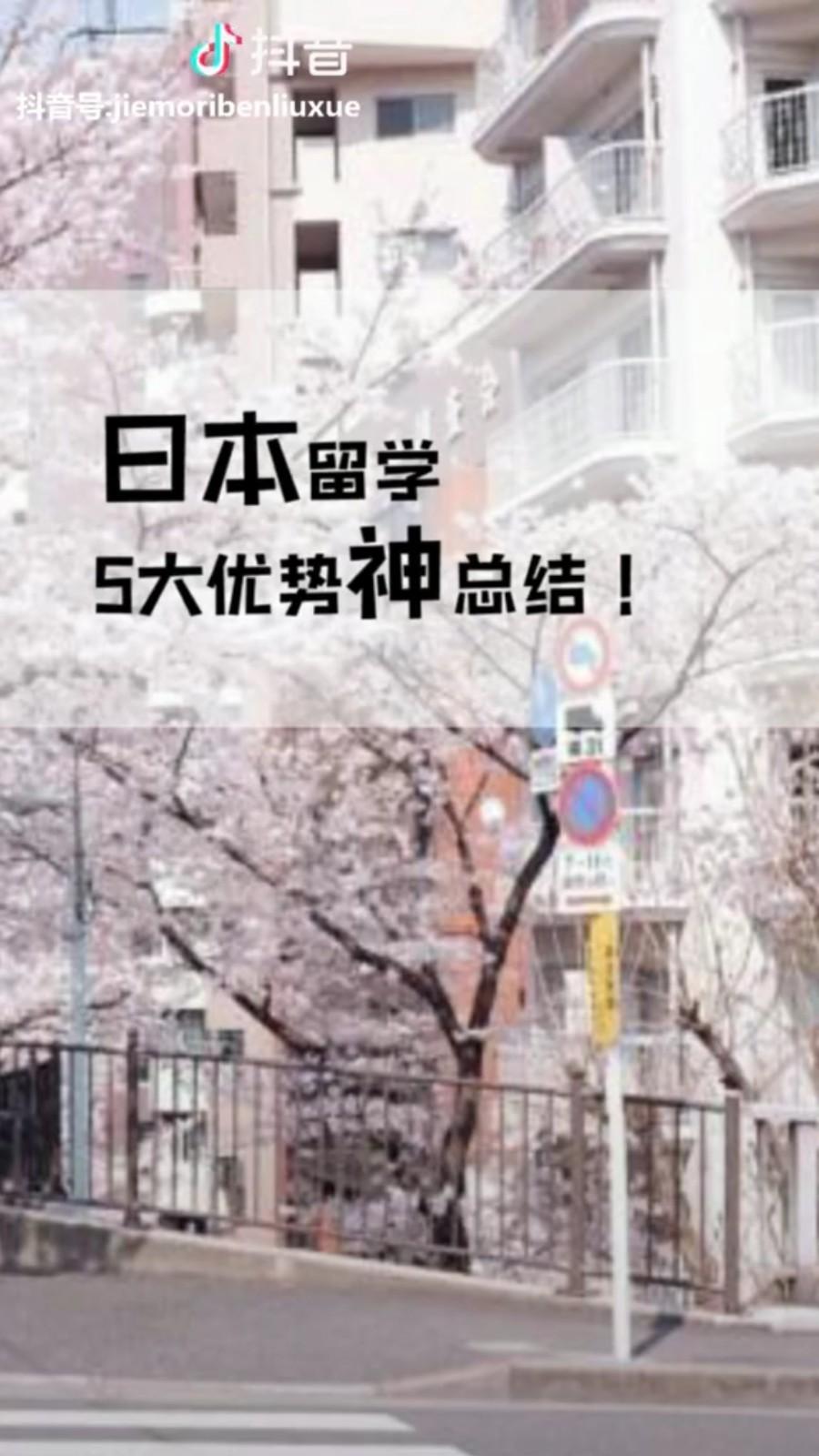 日本留学5大优势神总结!