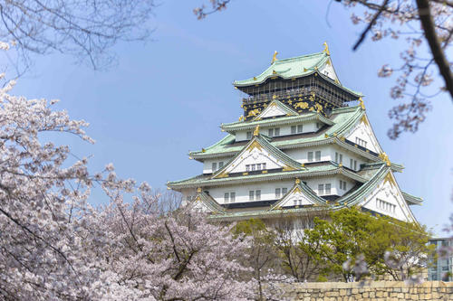 日本大阪城公园丨日本留学生活