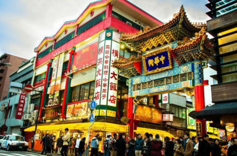 横滨中华街,日本乃至亚洲最大的唐人街丨日本留学