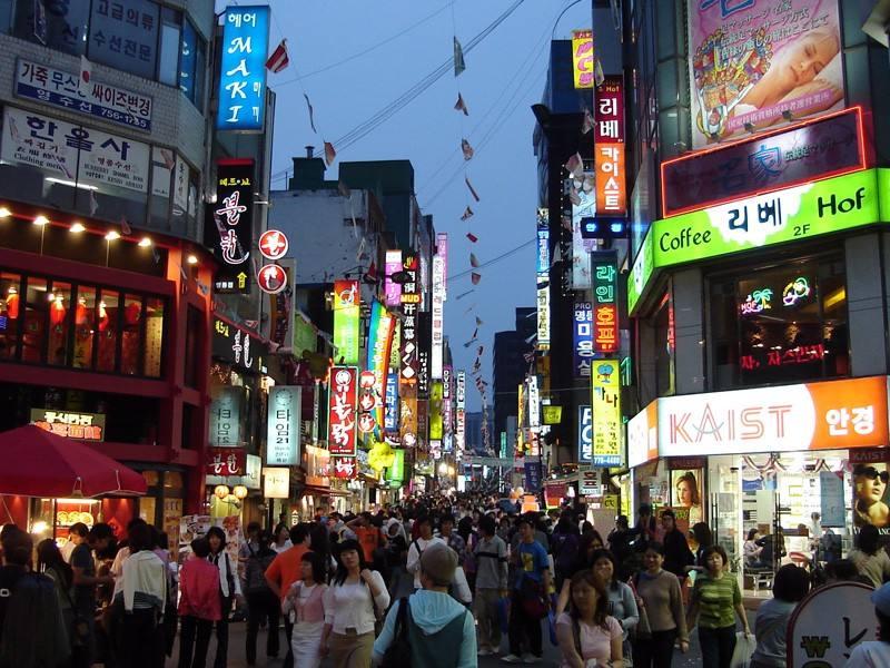 韩国人口数量是多少?(韩国留学生活)
