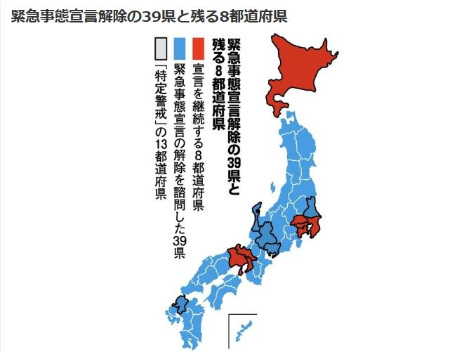 速报!日本39县解除紧急事态宣言(附记者问答)