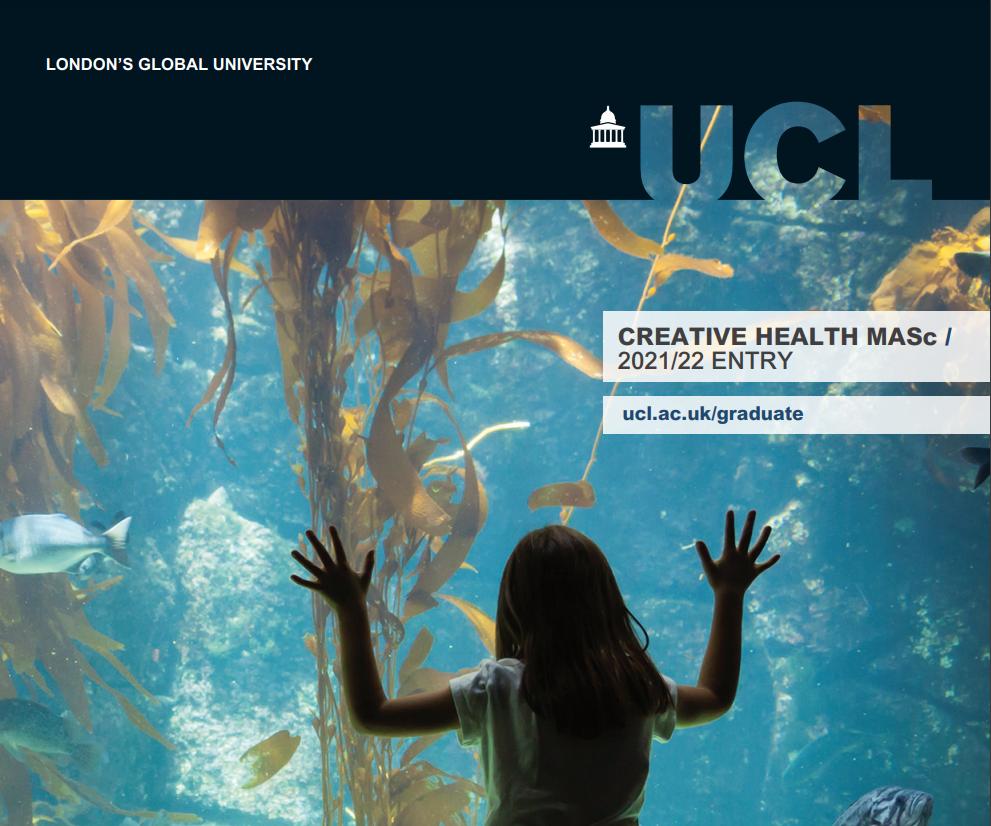 UCL- Creative Health MASc(创新健康硕士)专业全解析!