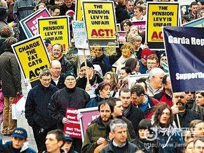 爱尔兰债务危机